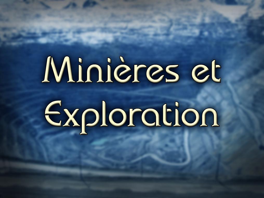 Exploration et prospection minières: Avions Nolisé