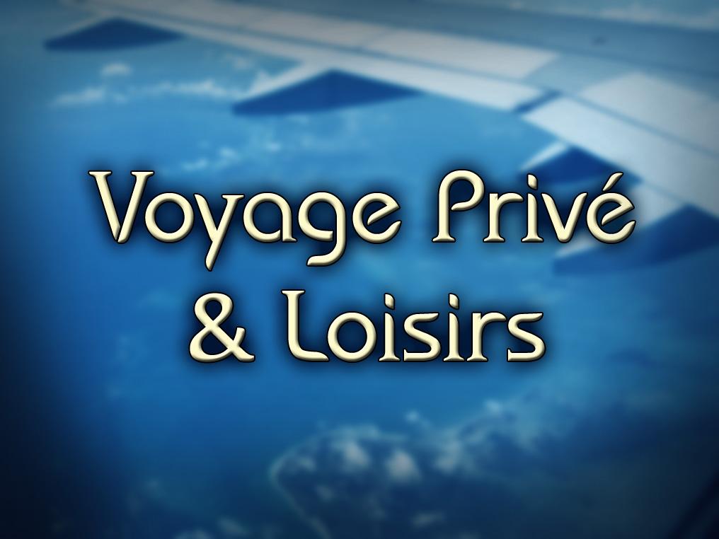 Voyages privés et Loisirs: Avions Nolisé