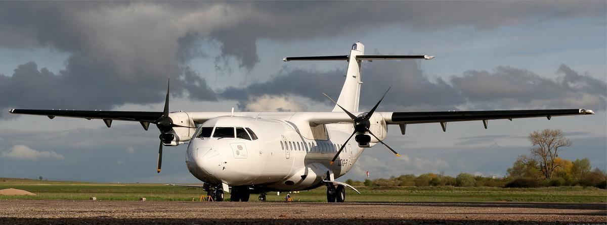 Avions de ligne turbopropulsés pour vols nolisés