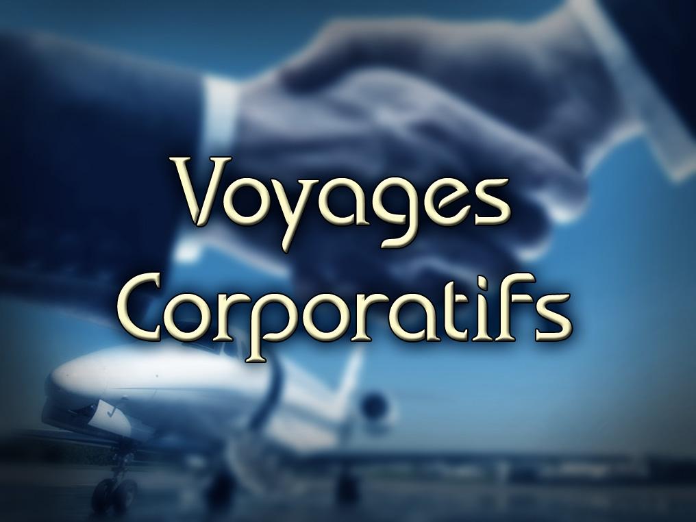 Voyage Corporatifs: Avions Nolisé