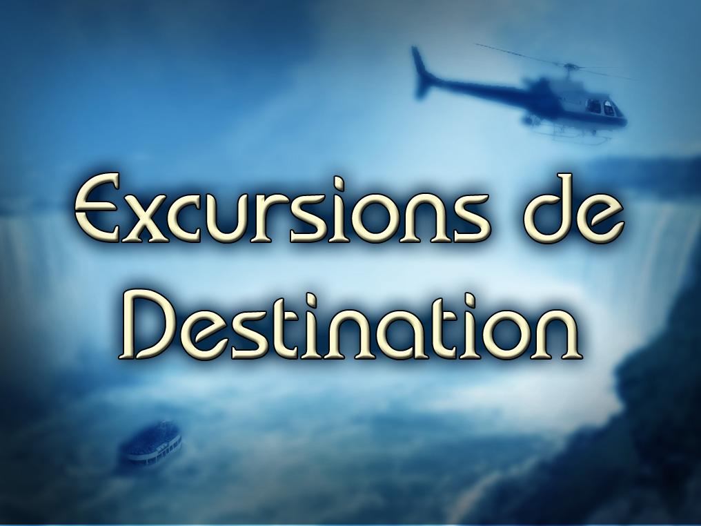 Excursions de destinations touristiques: Avions Nolisé