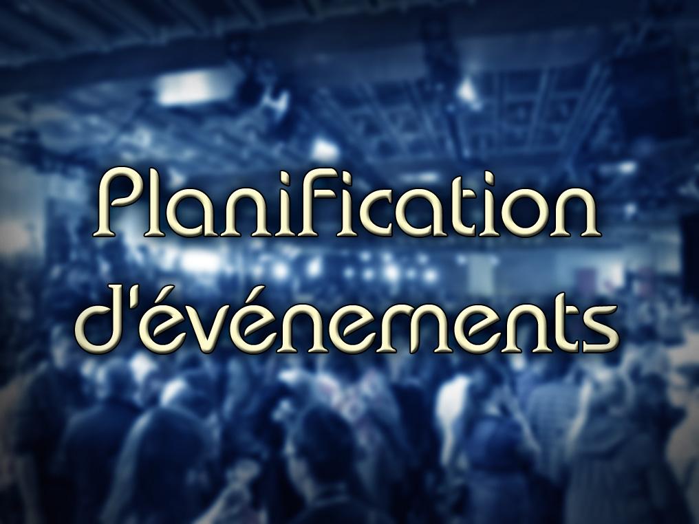 Planification d'Événement: Avions Nolisé