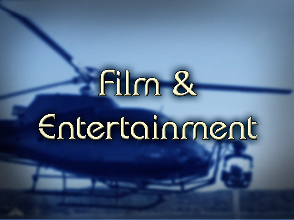 Film & entertainment: Aircraft Charters